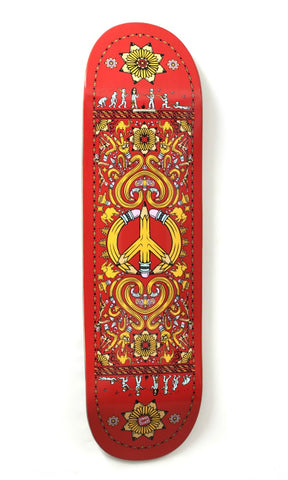 Drawing Boards Positive Symbols Skateboard Deck 8.8 - TR7 SKATE | LOCAL SKATE SHOP IN NEWQUAY | SKATER OWNED