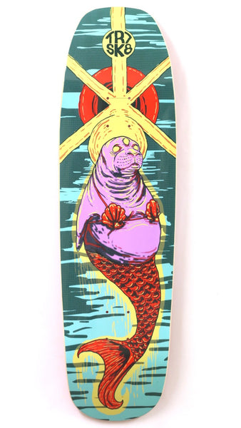 TR7 TRIPPY SEAL SHOVEL SKATEBOARD DECK 9.0 - TR7 SKATE | LOCAL SKATE SHOP IN NEWQUAY | SKATER OWNED