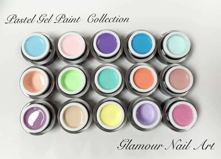 Gel Paint couleur Pastel