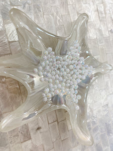 Deco 3D Mix ornement  perles blanc multicouleur