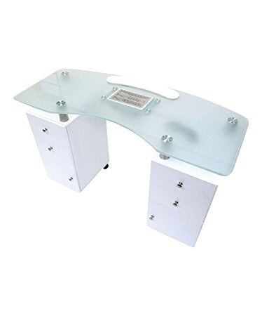 Table de manicure Blanche