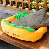 Hot Doggie Pet Bed™ ( Large Size )