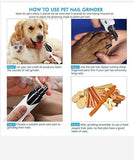 Rechargeable Painless Pet's Nail Grinder™ (Upgraded Version)