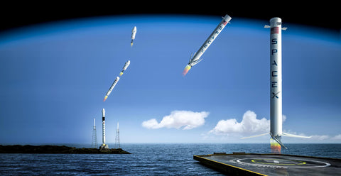 Reusable Rockets... The new race!