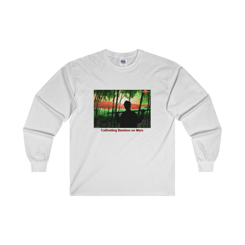 """Cultivating Bamboo on Mars"" Long-Sleeve T-Shirt"