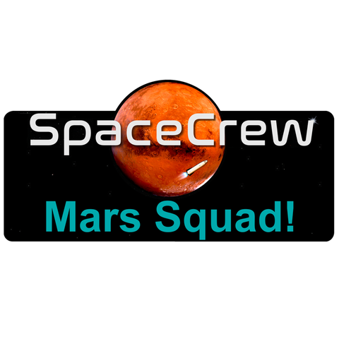 """Mars Squad!"" Die Cut Stickers"