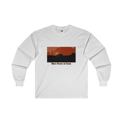 """Mars Rover at Dusk"" Long-Sleeve T-Shirt"