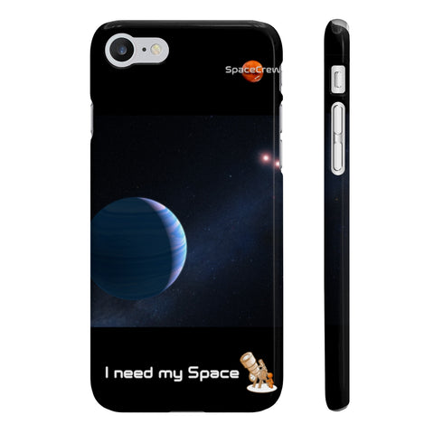 """I need my Space"" iPhone Cases"