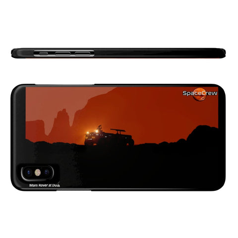 """Mars Rover at Dusk"" Premium Phone Cases"