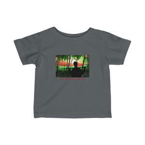 """Cultivating Bamboo on Mars"" Infant T-Shirt"