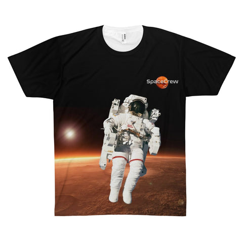 """Mars Astronaut"" Unisex All-over-print T-shirt"