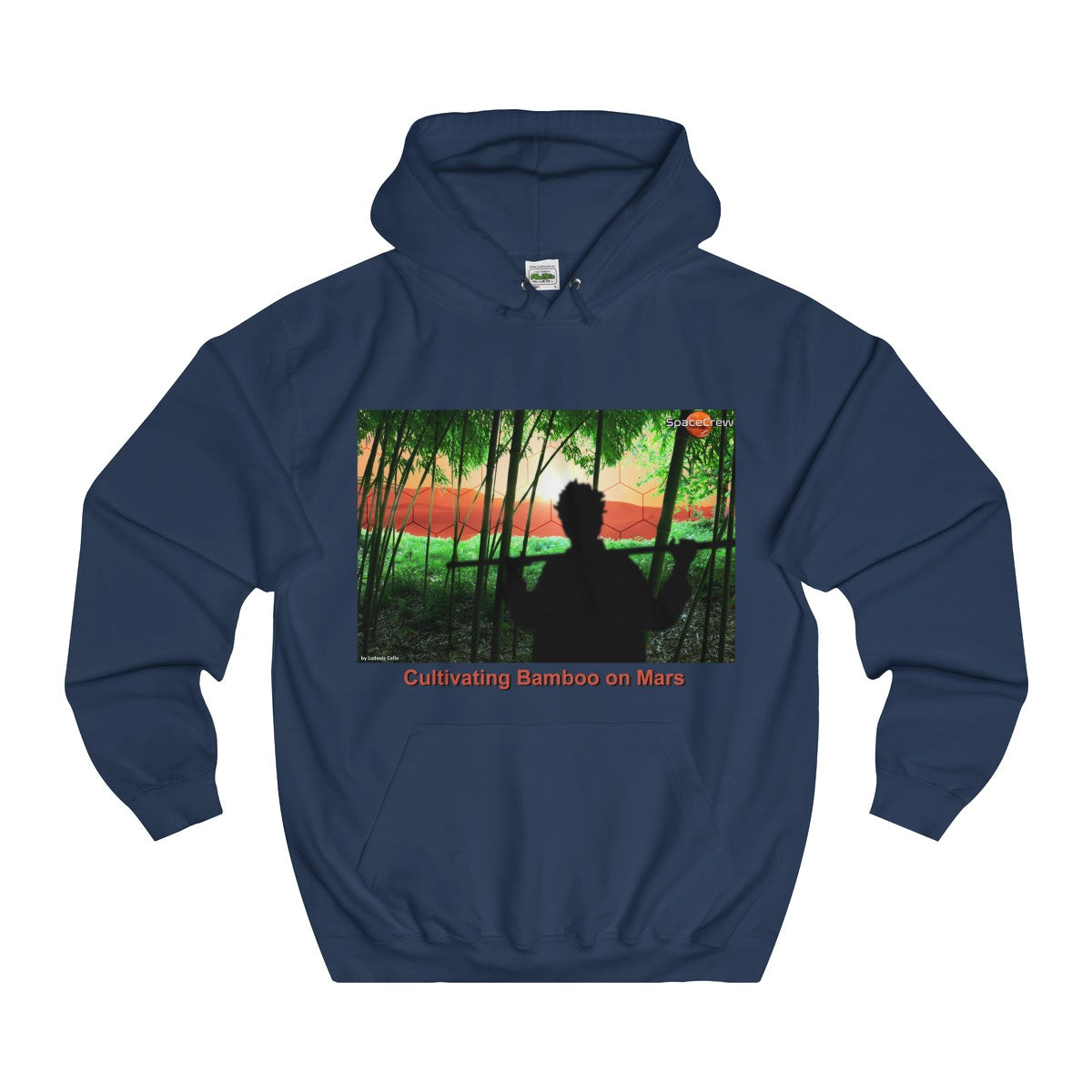 """Cultivating Bamboo on Mars"" Women's Hoodie"
