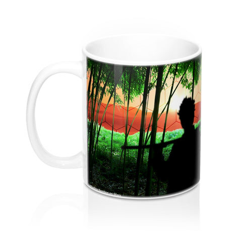 """Cultivating Bamboo on Mars"" Mug"