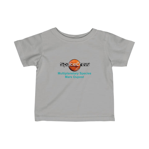 """Multiplanetary Species"" Infant T-Shirt"