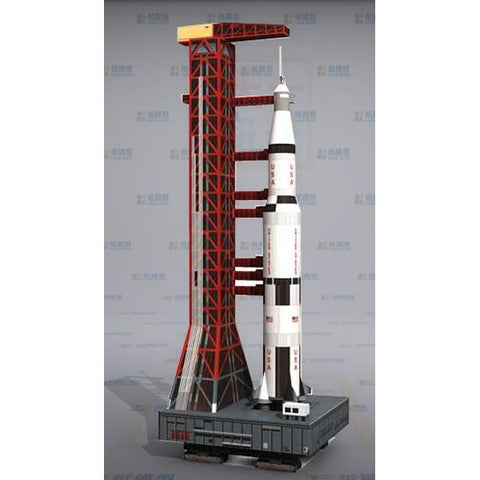 Saturn V Rocket 3D Puzzle - SpaceXcrew