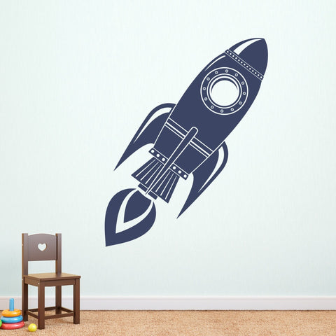 Rocket Wall  Sticker - SpaceXcrew