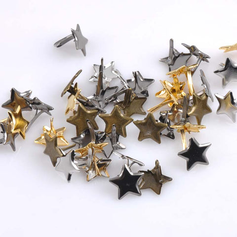 Embellishment Star Fastener - SpaceXcrew