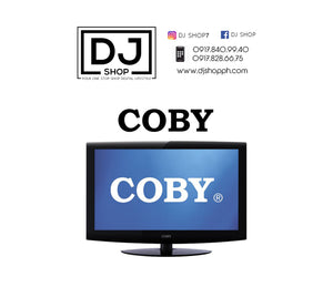 "Coby 19"" inches with buit in speakers"