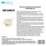 59S UVC LED MULTI-FUNCTIONAL STERILIZER LID
