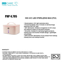 59S UVC LED STERILIZING BAG (P25)