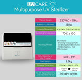 UV CARE MULTI-PURPOSE UV STERILIZER