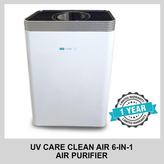 UV CARE CLEAN AIR 6 IN 1 AIR PURIFIER