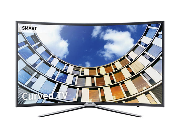 SAMSUNG 55 inches SMART TV curve with one REMOTE