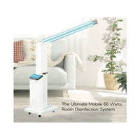 UV CARE ROOM STERILIZER 2 SUPERIOR LAMPS UVC & OZONE LAMP FOR ODOR REMOVAL