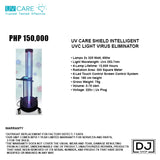 UV CARE SHIELD INTELLIGENT UVC LIGHT VIRUS ELIMINATOR