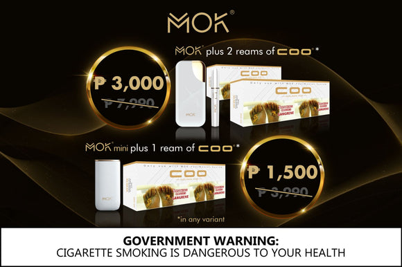 MOK mini BLACK with 1 reams PROMO (LIMITED TIME ONLY)