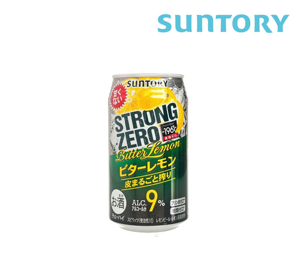 SUNTORY STRONG ZERO BITTER LEMON 350ml