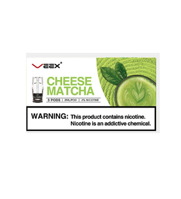 Veex cheese matcha POD