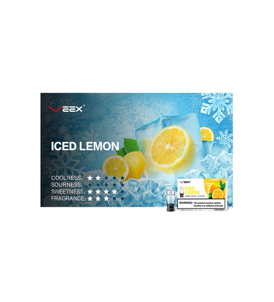 Veex Iced Lemon POD