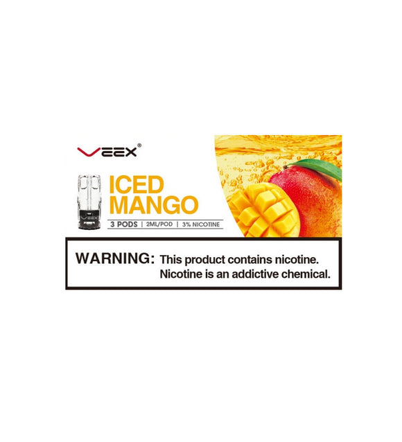 Veex Iced Mango 3in1 box