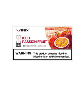 Veex Iced Passion fruit 3in1 box
