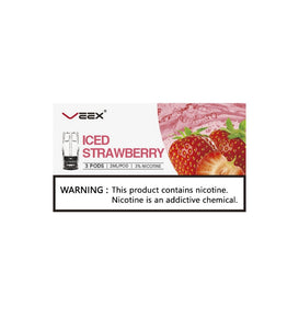 Veex Iced Strawberry 3in1 box