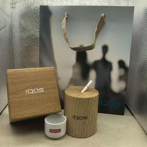 IQOS WOODEN Magnetic Ashtray