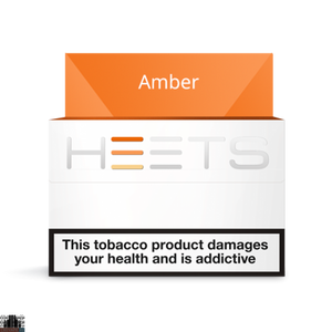 Heets Amber label heatstick PACK