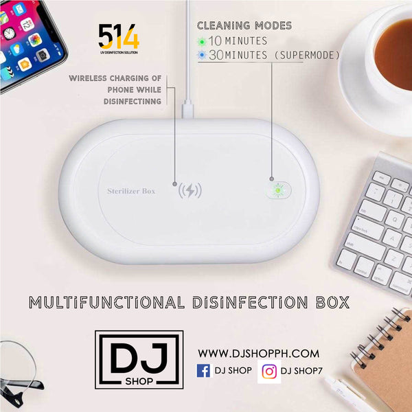 UV wireless charger portable box