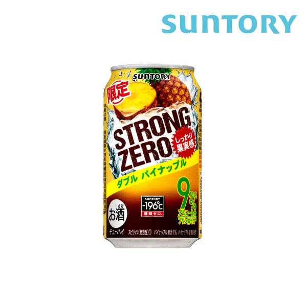 SUNTORY STRONG ZERO Pineapple