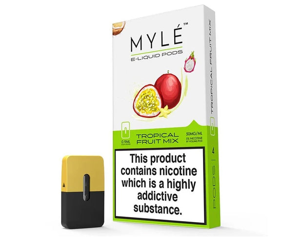 MYLÉ pods TROPICAL FRUIT MIX