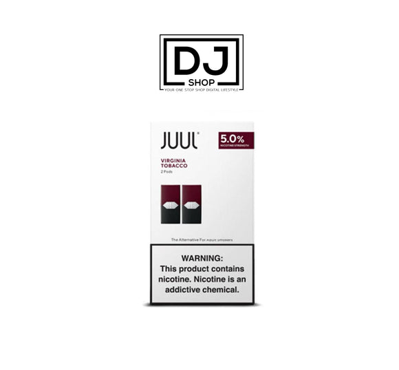 JUUL PODS - VIRGINIA TOBACCO 5%