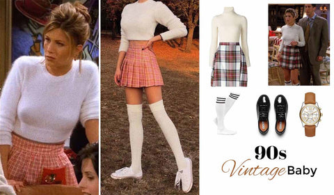 pleated skirts back in style