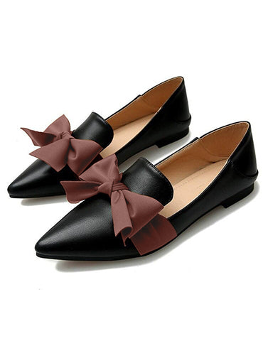 Style Statement Black Loafers