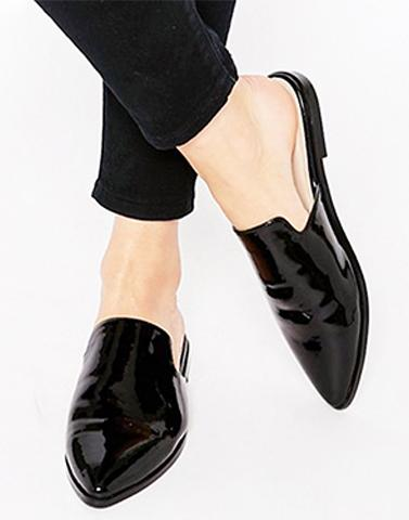 Keep It Black Mules