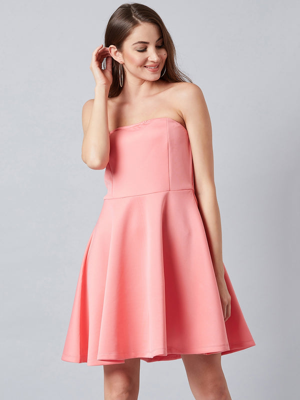 Coral Beauty Pink Dress