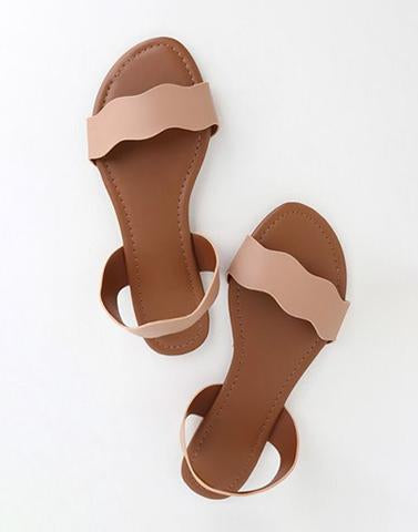 Beach Beauty Flat Footwear
