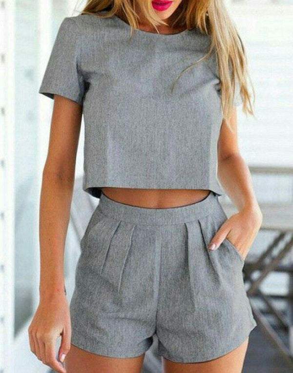 Fearless And Grey Co-ord Set