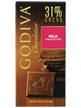 Godiva Dark Chocolate Sea Salt Bar