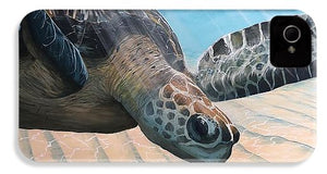 Turtle Gliding - Phone Case